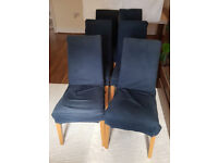 6x Dining chairs