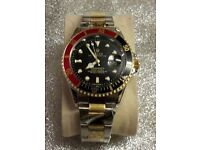 ROLEX MENS WATCH RED & BLACK FACE