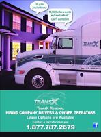 ALL NEW RATES  OWNER OPERATOR ON OUR REGIONAL CAN&USA