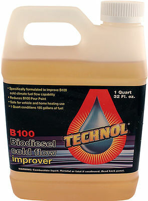 Technol Biodiesel Anti-gel B100 Cold Flow Treatment