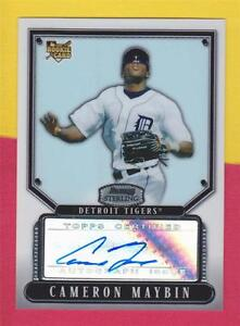 CAMERON MAYBIN (SP) RC AUTO AUTOGRAPH #BS-CM SD PADRES * 2007 BOWMAN STERLING