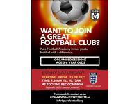 Pure Football Academy: Football Sessions
