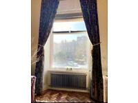 Luxury large velvet curtains and roman blinds for sale