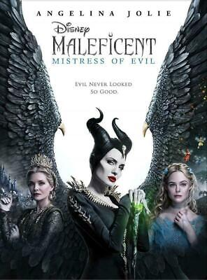 Maleficent Mistress of Evil DVD NEW *FAMILY FANTASY* SHIPPING NOW ! Fairy Tale Activity