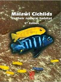 Malawi cichlids in their natural habitat 5th edition