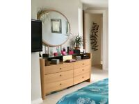 High quality dressing table and matching bedside tables