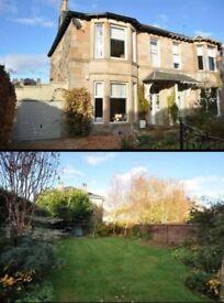 4 bedroom semi detached sandstone FULLY FURNISHED Victorian villa