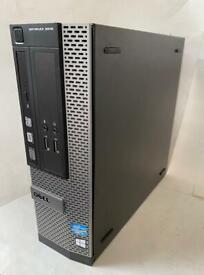 Fast slim i3 8GB Dell HD Tower massive 500GB,Window10,Microsoft office,Refurbished
