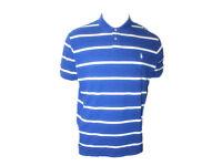 Polo Ralph Lauren Mens Short Sleeve Striped Mesh Top Tee T-shirt TW40