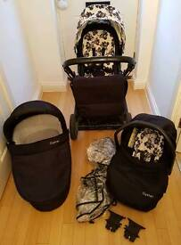 Oyster 3in1 travel system pushchair