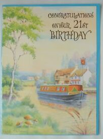 Scenic 21st Birthday Cards – Large