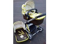 Cosatto Giggle Travel System - Pram, Pushchair, Bag REDUCED TO CLEAR