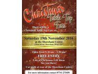 Grand Christmas Table Top Fair Saturday,19th November 2016,Shoreham Centre bn43 5wu,9.30am Start
