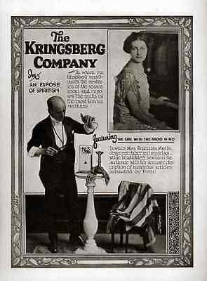 Kringsberg A4 Photo Print Magic Magician Vintage