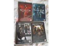 Nikita Seasons 1 2 3 4 DVD
