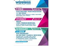 FRIDAY WIRELESS TICKETS ( SOLD OUT) 6th of July