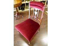 Gorgeous Victorian Nursing Chair - WE CAN DELIVER ACROSS THE UK