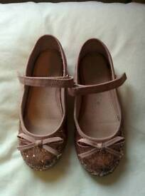 Girls party shoes size 9