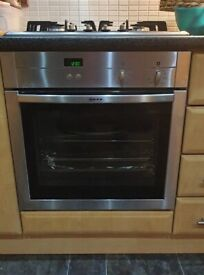 NEF oven/hob and extractor