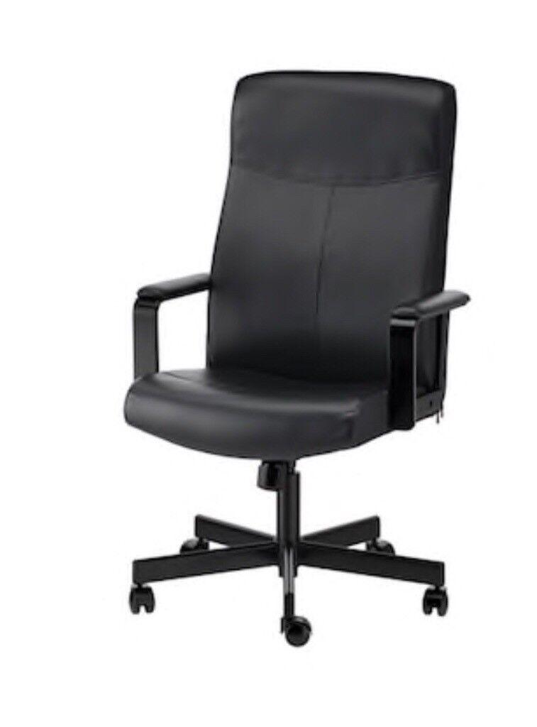 Black Swivel Office Chair Ikea