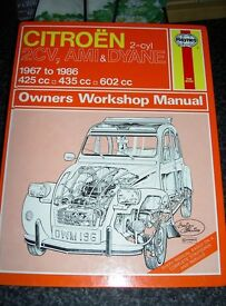 Various haynes manuals.