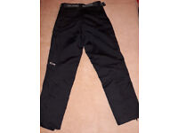 MOTORCYCLE RSR TEXTILE TROUSERS SIZE MEDIUM