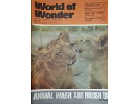 Vintage 1970's 'World of Wonder' magazine edition number 234.