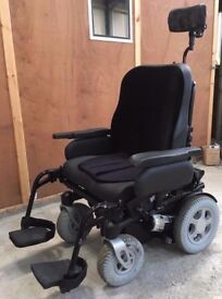 Quickie Groove R Electric Wheel Chair Bariatric Powerchair Power Chair Wheelchair Mobility Scooter