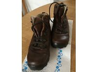 Ladies Brasher Soft leather Walking Boots size uk 6.