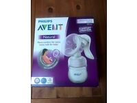 Phillips Avent Manual Breast Pump: Brand New, Unopened