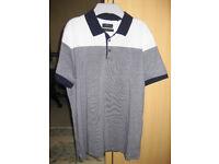 Men's Next Medium Slim Fit, Signature Short Sleeve Top