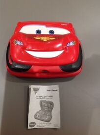 VTech Team Lightening McQueen Laptop with 15 Activity Cards
