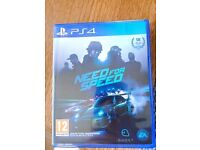 NEED FOR SPEED PS4 PlayStation 4 game