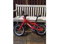Red Boys Ridgeback Bike For Sale