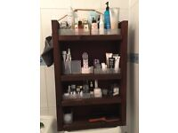 Rustic Handmade Bathroom Shelf