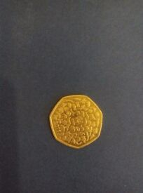 Collectable 50 pence coins