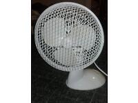 small white fan