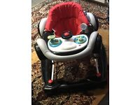 Two in one bouncer and baby walker
