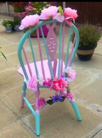 Chic chair, perfect for nursery, salon or anywhere that needs a bit of wow factor!