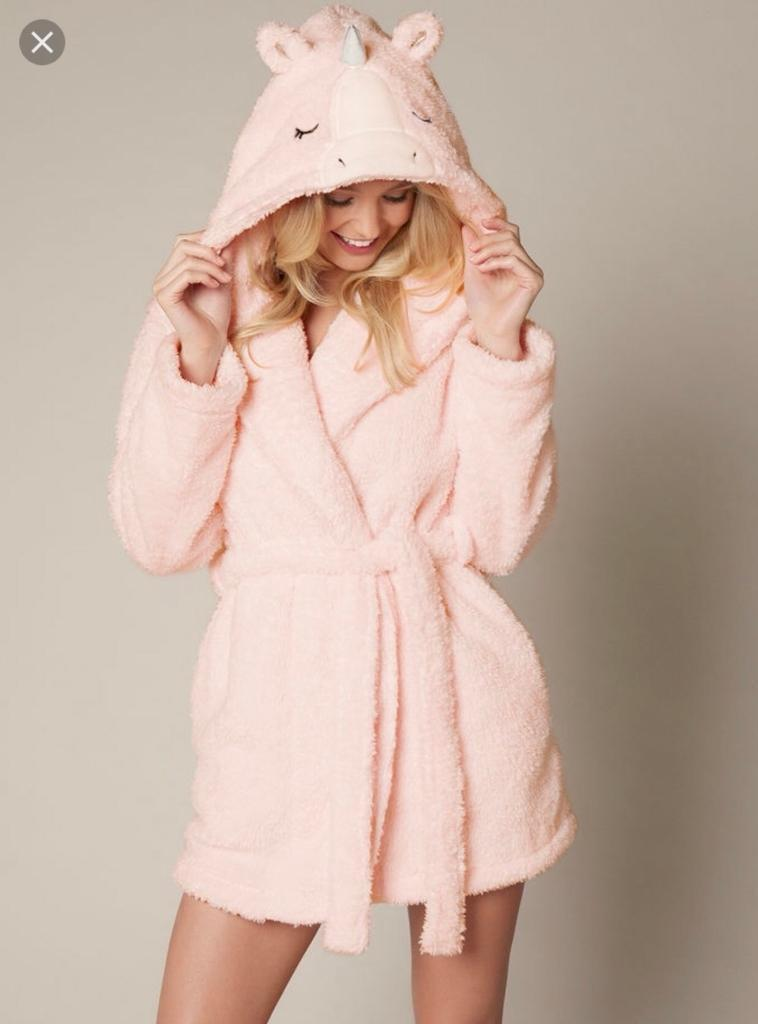 Boux Avenue Unicorn Robe Dressing Gown In East Boldon Tyne And