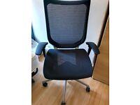 Black Ergonomic Chair Okamura CP