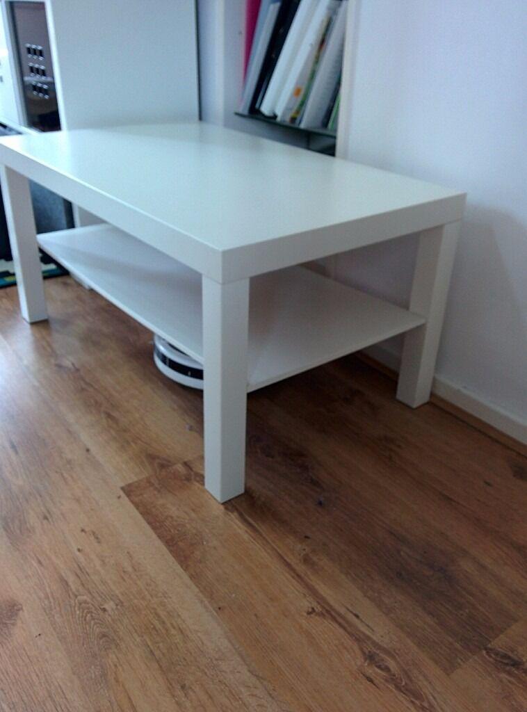 Ikea Lack White Coffee Table 90x55 Cm