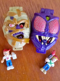 MIGHTY MAX 2 complete Original 90s SHRUNKEN HEADS
