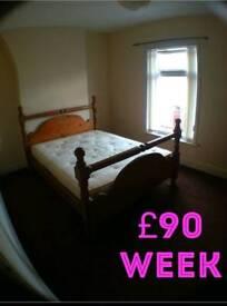 £90 week room