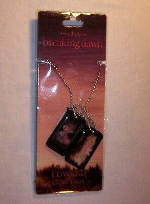 Twilight Breaking Dawn Part 1: Edward Dog Tags