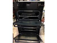 Stoves gas double oven, built in.