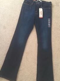 BNWT Levi 315 Shaping Bootcut Jeans