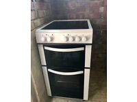 LOGIK LFTC50W16 Electric Ceramic Cooker - White, Used for 3 Months (RRP £269.99)