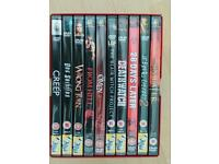 Horror dvds x 10 (brand new but not sealed)