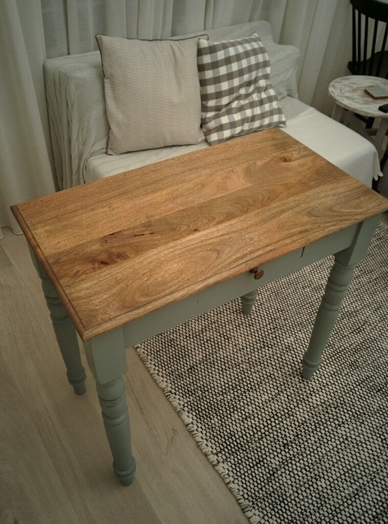 Real Wood Side Table/ Desk